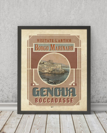 Genova Boccadasse | STAMPA | Vimages - Immagini Originali in stile Vintage