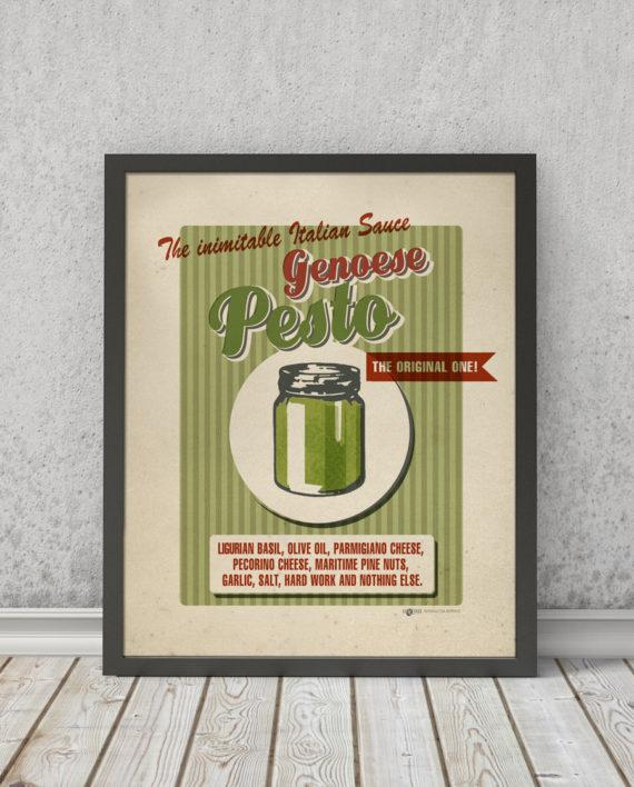 Pesto Genoese | STAMPA | Vimages - Immagini Originali in stile Vintage