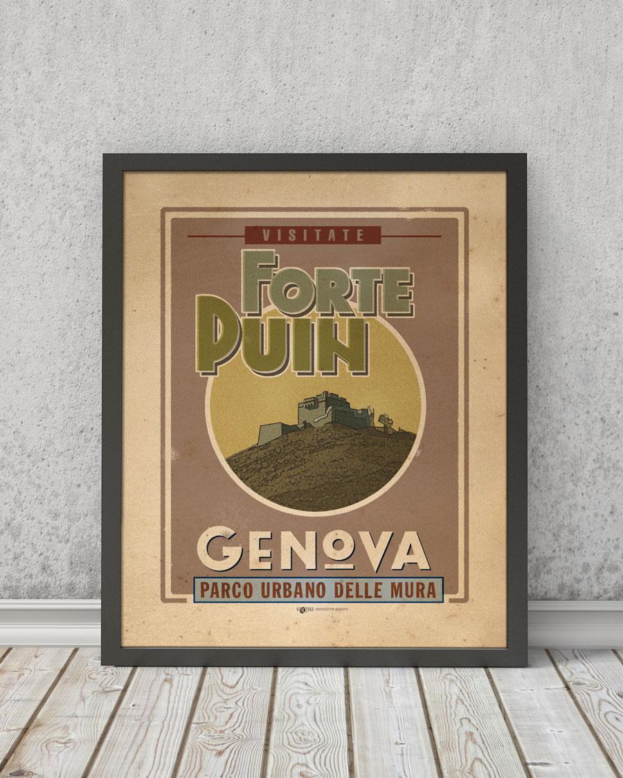 Forte Puin | STAMPA | Vimages - Immagini Originali in stile Vintage