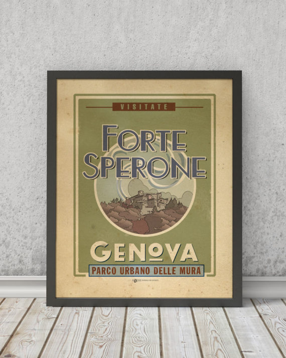 Forte Sperone | STAMPA | Vimages - Immagini Originali in stile Vintage