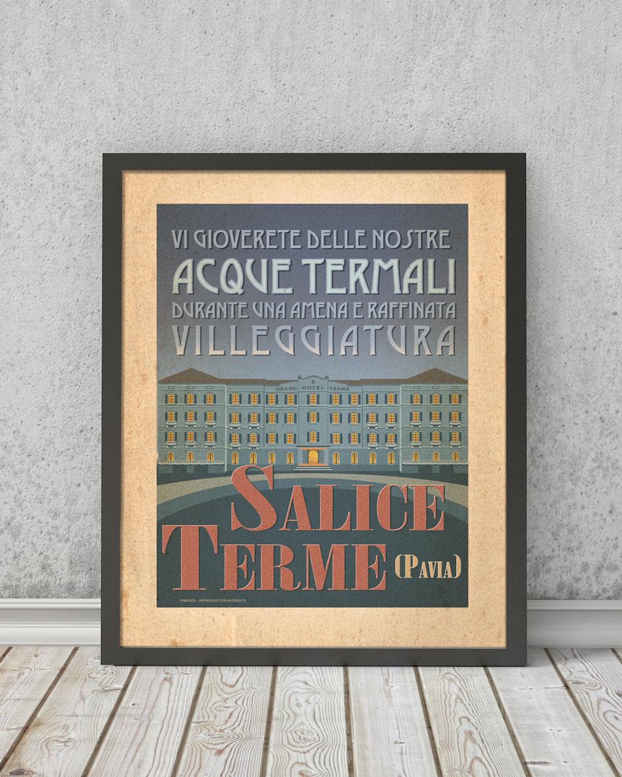 Salice Terme | STAMPA | Vimages - Immagini Originali in stile Vintage