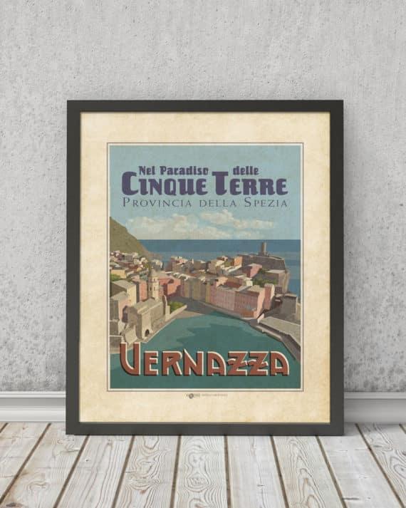 Nel paradiso delle cinque terre - Vernazza | STAMPA | Vimages - Immagini Originali in stile Vintage