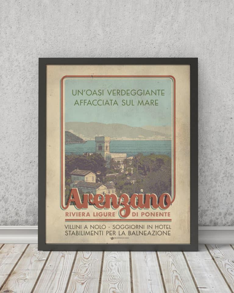 Arenzano | STAMPA | Vimages - Immagini Originali in stile Vintage
