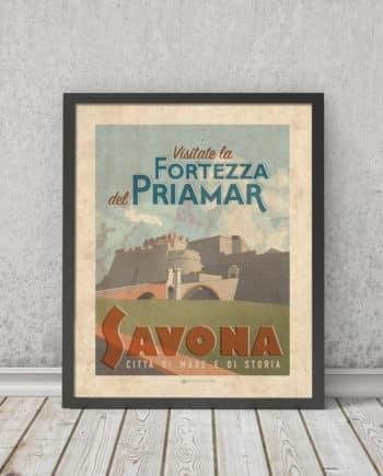 Fortezza Priamar Savona | STAMPA | Vimages - Immagini Originali in stile Vintage