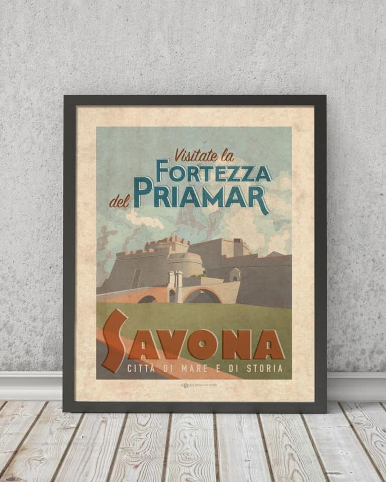 Fortezza Priamar Savona   STAMPA   Vimages - Immagini Originali in stile Vintage