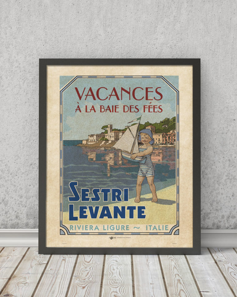 Sestri Levante   STAMPA   Vimages - Immagini Originali in stile Vintage