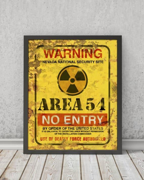 Area 54 | STAMPA | Vimages - Immagini Originali in stile Vintage - VAR01